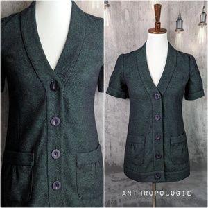 Anthropologie Tabitha Mermaid Tweed Blazer 😍